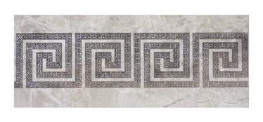 Keraminės dekoruotos sienų plytelės Elada 7, 50 x 20 cm