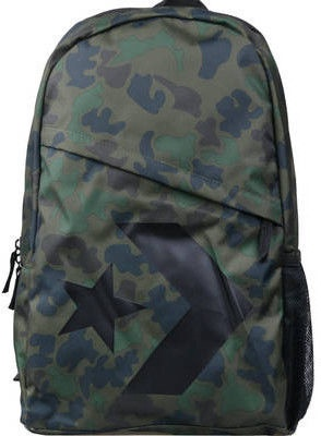 Converse Speed Backpack 10006641-A02 Green Camouflage