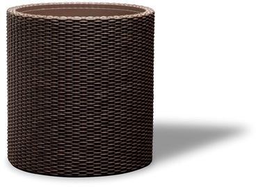 Вазон Keter Medium Cylinder Planter Brown
