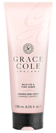 Grace Cole Body Scrub 238ml Wild Fig & Pink Cedar