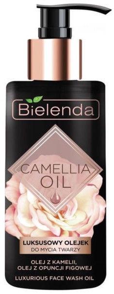 Makiažo valiklis Bielenda Camellia Oil Luxurious Face Wash Oil, 140 ml