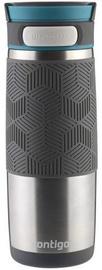 Contigo Metra Transit Vacuum Mug 470ml Black/Silver