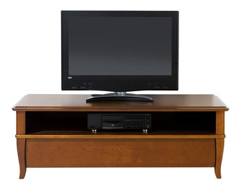 Black Red White Orland TV Cabinet 140cm Cherry Wood