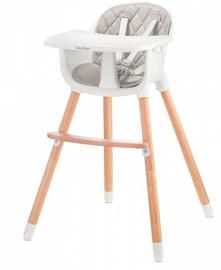 Maitinimo kėdutė Baby Tiger Tini Grey