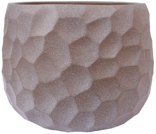 Home4you Flower Pot Cubo-1 D54xH39cm Taupe