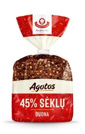 Agotos duona, 45% sėklų, 280 g