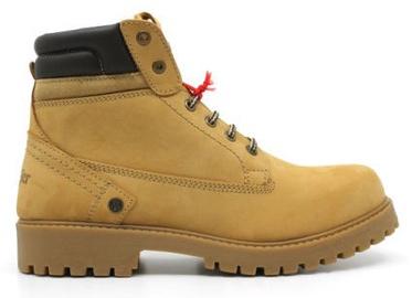 Wrangler Creek Fur Leather Winter Boots Light Brown 41