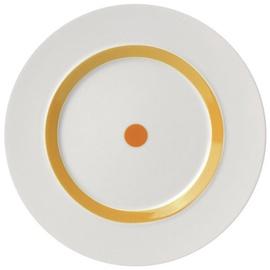 "ViceVersa Dessert Plate ""The Dot"" 23cm Yellow"