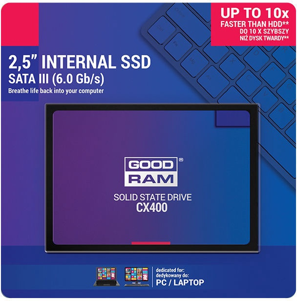 "Goodram CX400 SATAIII 2.5"" 512GB"