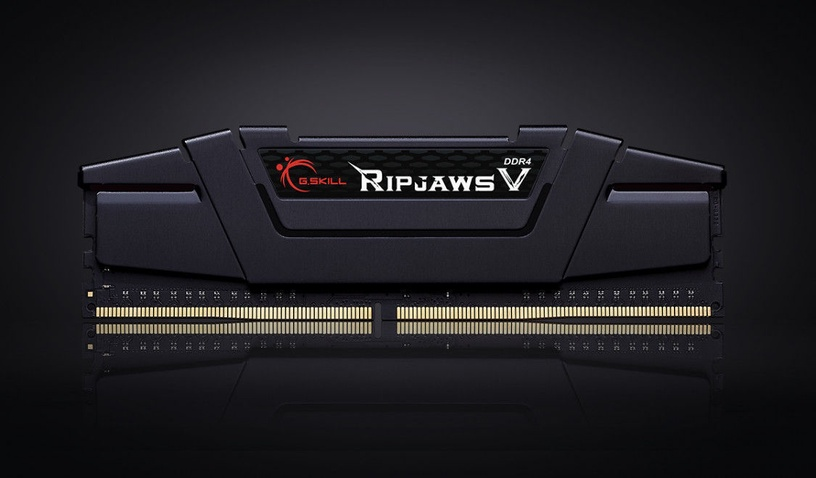G.SKILL RipjawsV 8GB 3200MHz DDR4 CL16 rev2 DIMM KIT OF 2 F4-3200C16D-8GVKB