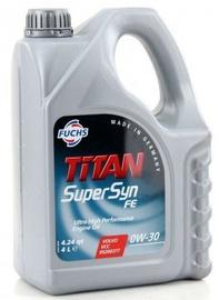 Машинное масло Fuchs Titan Supersyn FE SAE 0W - 30, синтетический, для легкового автомобиля, 5 л