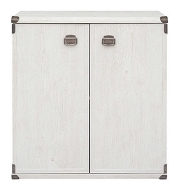 Black Red White Cabinet Indiana S31-JKOM2D Canyon Pine