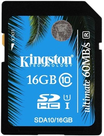Kingston 16GB SDHC Class 10 UHS-I Ultimate