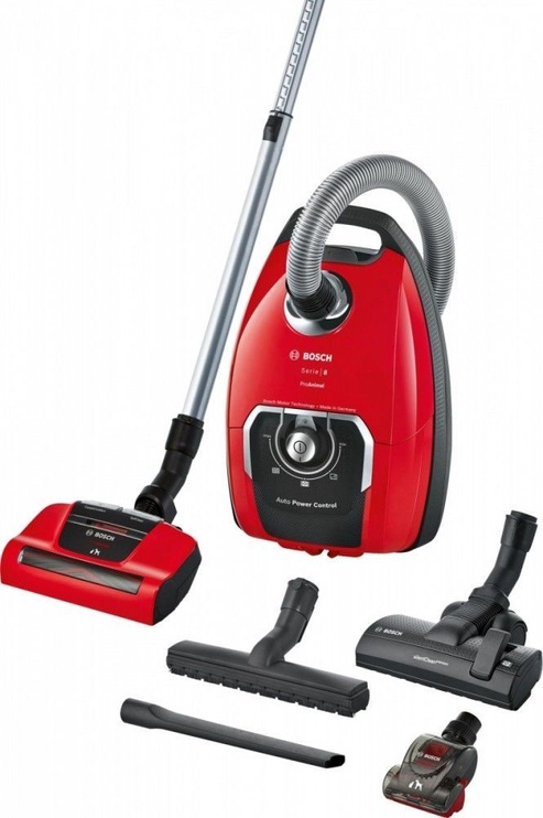 Dulkių siurblys Bosch Serie 8 BGB8PET1 Red