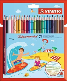 Stabilo Aquacolor Watercolor Pencils 24pcs