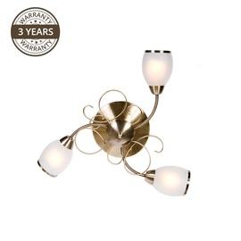 Lampa griestu Domoletti MX91347-3, 3X40W, E14