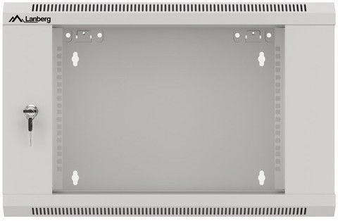 "Lanberg Wall-Mounted Rack 19"" 6U WFFA-5606-10S Grey"