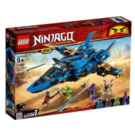 Konstruktorius Lego Ninjago Jay's Storm Fighter 70668, nuo 9 m.