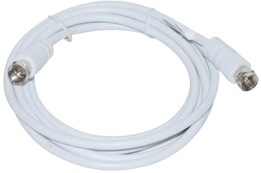 Vakoss Cable Coax to Coax White 2 m