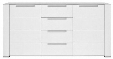 Black Red White Dinaro Drawer White