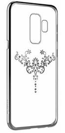 Devia Crystal Iris Back Case With Swarovsky Crystals For Samsung Galaxy S9 Silver