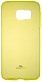 Roar Ultra Thin Back Case For Apple iPhone 5/5S Transparent/Yellow