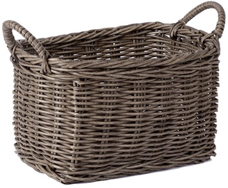 Home4you Basket Ruby-4 38x30x22cm Brown