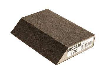 Шлифовальная губка Mirka, P120, 125x85x25 мм