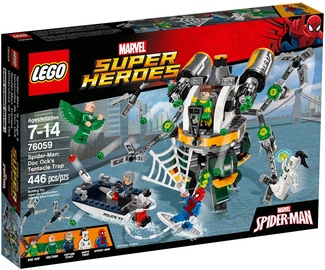 LEGO Super Heroes Spider Man Doc Ock's Tentacle Trap 76059
