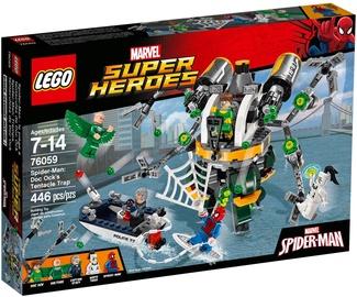 Конструктор LEGO Super Heroes Spider Man Doc Ock's Tentacle Trap 76059 76059, 446 шт.