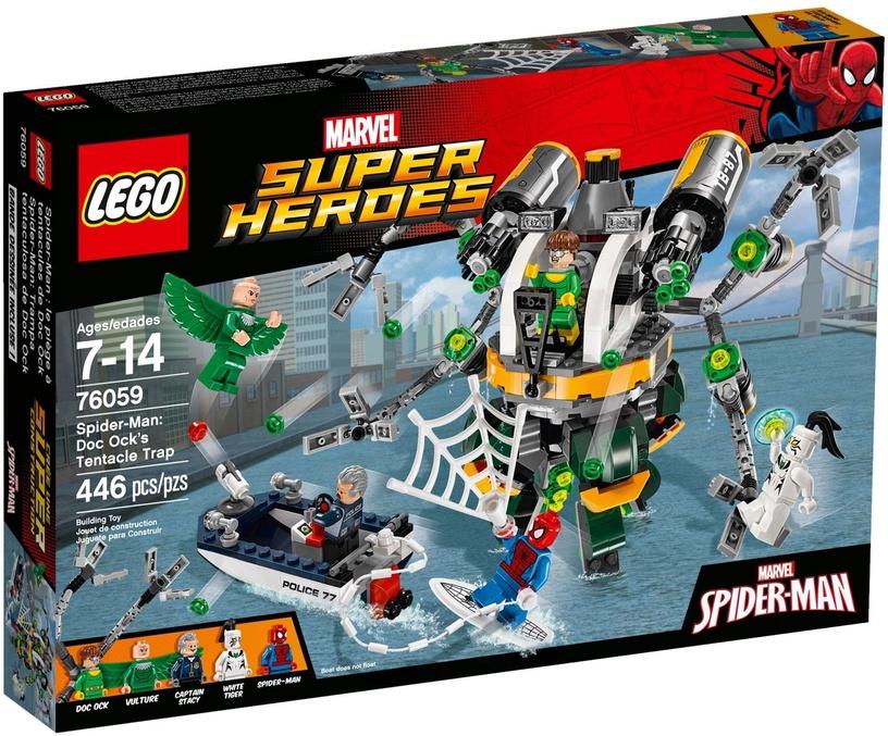 LEGO Super Heroes Spider Man Doc Ock's Tentacle Trap 76059