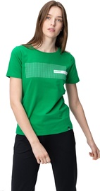 Audimas Womens Cotton Tee With Print Jolly Green M