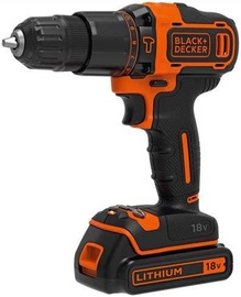 Black & Decker BDCHD18KB Hammer Drill Driver 18V 1.5Ah