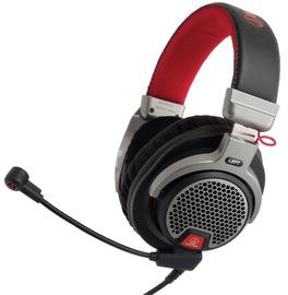 Žaidimų ausinės Audio-Technica ATH-PDG1 Premium Gray/Red