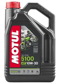 Motociklų variklių tepalas Motul 5100 4T, 10W-30, 4 l