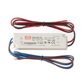 TOITEALLIKAS LED 20W 12V 1.67A IP67