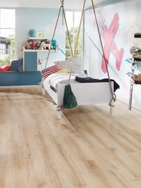 Laminuotos medienos plaušų grindys Kronofix, 1285 x 192 x 7 mm