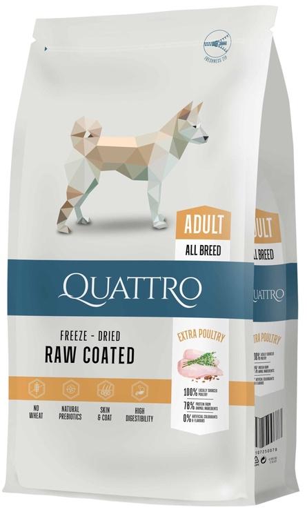 Pašaras Quattro šunims su paukštiena 12kg