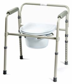 Kid-Man 01-5205F Foldable Toilet Frame White