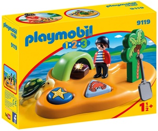 Playmobil 1-2-3 Pirate Island 9119