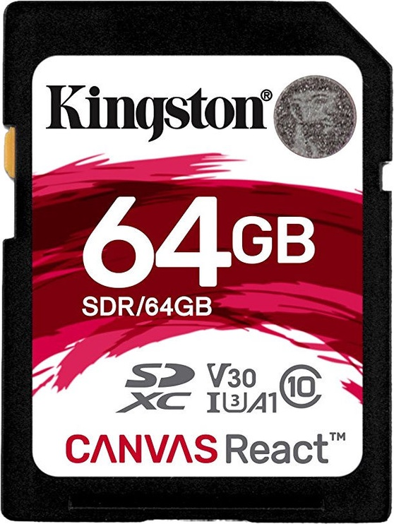 Kingston Canvas React SD 64GB
