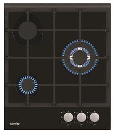 Dujinė kaitlentė Simfer H4.305.HGSSP Black