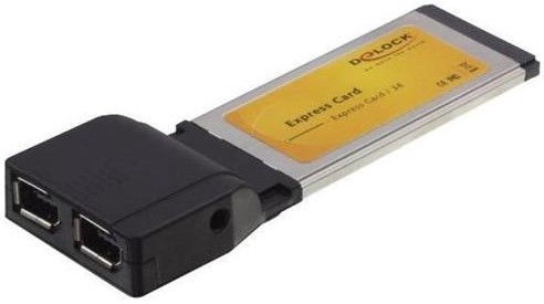 Delock Express Card to 2 x Fire Wire A