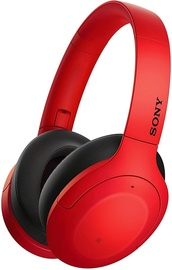 Sony WH-H910N Over-Ear Wireless Headphones Red