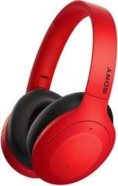 Ausinės Sony WH-H910N Over-Ear Red, belaidės