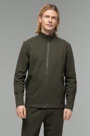 Audimas Mens Cotton Sweater Olive L