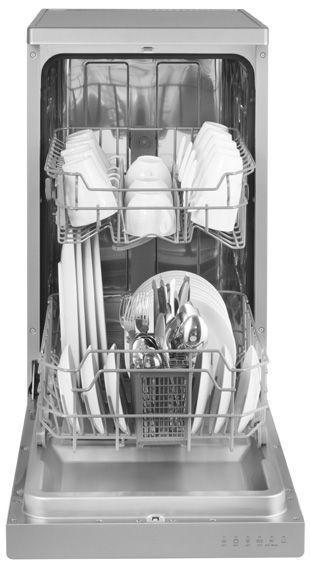 Amica ZWM 416SS Silver