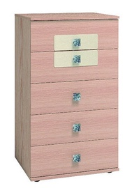 Glazov Ameli 9 Chest Of Drawers 60x104x60cm Oak