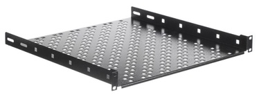 Netrack Equipment Shelf 19'' 1U / 450mm Grey