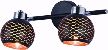 Lamkur Holly Ceiling Lamp LM 2.94 2x40W E14 Black